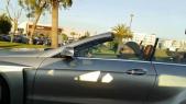 Le roi Mohammed VI en voiture