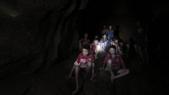 Enfants piégés dans une grotte