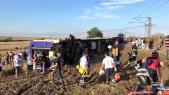 Accident train Turquie