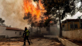 Incendie Grèce