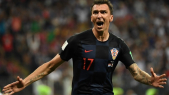 Russie 2018 Mario MandZukic envoie Croatie en finale
