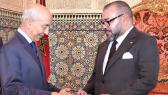 Mohammed VI et Driss Jettou