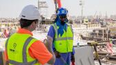 Gilets Qatar Mondial 2022 Chantier