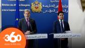 cover Video -Le360.ma •Bourita: le Maroc et l'UE ont vaincu les attaques contre leur partenariat