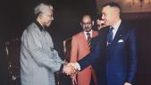 Le roi Mohammed VI et Nelson Mandela