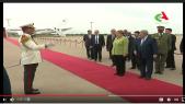 Vidéo. Algérie: Merkel est arrivée à Alger