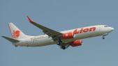 Lion air crash d'avion En Indonésie