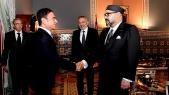Marrakech: le roi Mohammed VI reçoit Moulay Hafid Elalamy et Carlos Ghosn