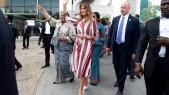 MElania Trump au Ghana