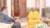 Marrakech: le roi Mohammed VI reçoit Aziz Akhannouch