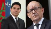 Nasser Bourita et Jean-Yves Le Drian