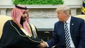 Trump et Ben Salmane