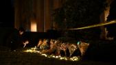 Etats Unis- tuerie devant la synogogue à Pittsburg