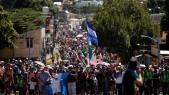 caravane de migrants - Tijuana