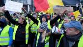 Gilets jaunes à Bruxelles