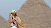 MElania Trump au Caire