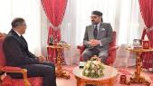Driss Guerraoui reçu par le roi Mohammed VI