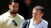 Alexandre Benalla et le président Macron