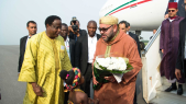 Mohammed VI au Ghana