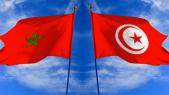 drapeaux Tunisie Maroc