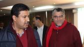 Abdelali Hamieddine et El Mostafa Ramid.