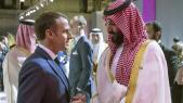 Macron et MBS