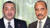 Mohammed VI et Mohamed ould Abdelaziz