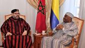 Le roi Mohammed VI et Ali Bongo Ondimba