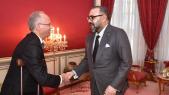 Roi Mohammed VI et Mohamed Bachir Rachdi