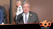Cover Vidéo - Pacte de Marrakech. Déclaration du secrétaire général de l'ONU, Antonio Guterres