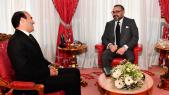 Le Roi Mohammed VI et Mohamed Benalilou