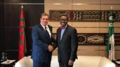 Aziz Akhannouch et le président de la BAD