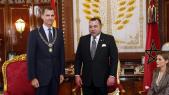 Felipe d'Espagne et Mohammed VI