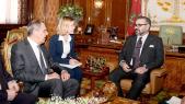 Serguei Lavrov et Mohammed VI