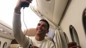 Selfie de Ronaldo