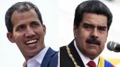 Juan Guaido et N. Maduro
