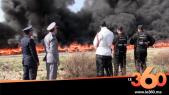 Cover Vidéo -  اتلاف 18 طن من الحشيش و62 الف قرص مهلوسة بضواحي طنجة