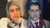 Amina Maelainine et Saâd-Eddine El Othmani