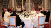 Pape François-diner royal