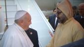 Le roi Mohammed VI et le Pape François