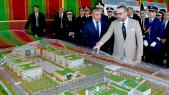 Le roi Mohammed VI présidant, mercredi 24 avril 2019 au quartier Riad à Rabat, le lancement des travaux de construction du nouveau siège de la DGSN.