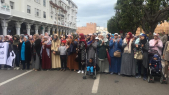 Marche pro-détenus d'Al Hoceima, dimanche 21 avril à Rabat.