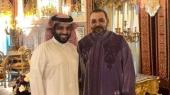 Turki Al-Sheikh et le roi Mohammed VI
