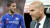 Hazard et Zidane