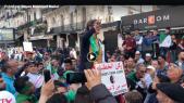 Algérie: une manifestante devient une vedette en fustigent Gaïd Salah, Khaled Nezzar et Bensalah