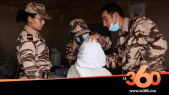 Cover Vidéo - ساكنة طاطا تَحجُّ بالآلاف للمستشفى العسكري الميداني من أجل التطبيب
