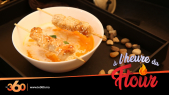 Cover_Vidéo: Le360.ma • à l'heure du Ftour Ep3 : Soupe de carottes, brochettes de poulet caramélisé