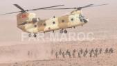 "Ouarzazate: Au coeur des manoeuvres aéroterrestres ""Jbal Saghro"""