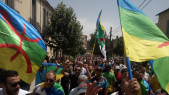 Vidéos. Algérie: les manifestants défient Gaïd Salah en brandissant le drapeau amazigh