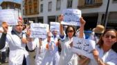 Etudiants en médecine grévistes